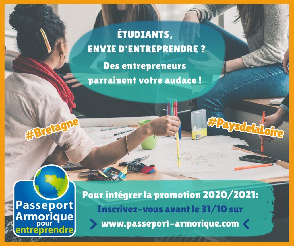 lancement des sélections Passeport Armorique 2020