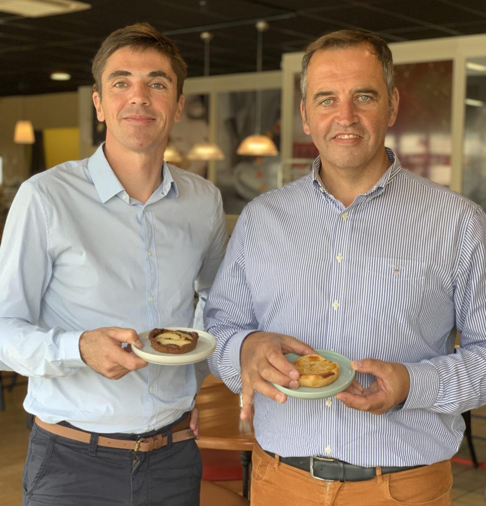 Laurent JOLIVET (à gauche) et Fabrice BERROU (à droite), co-dirigeants de l'entreprise brestoise Terre d'Embruns