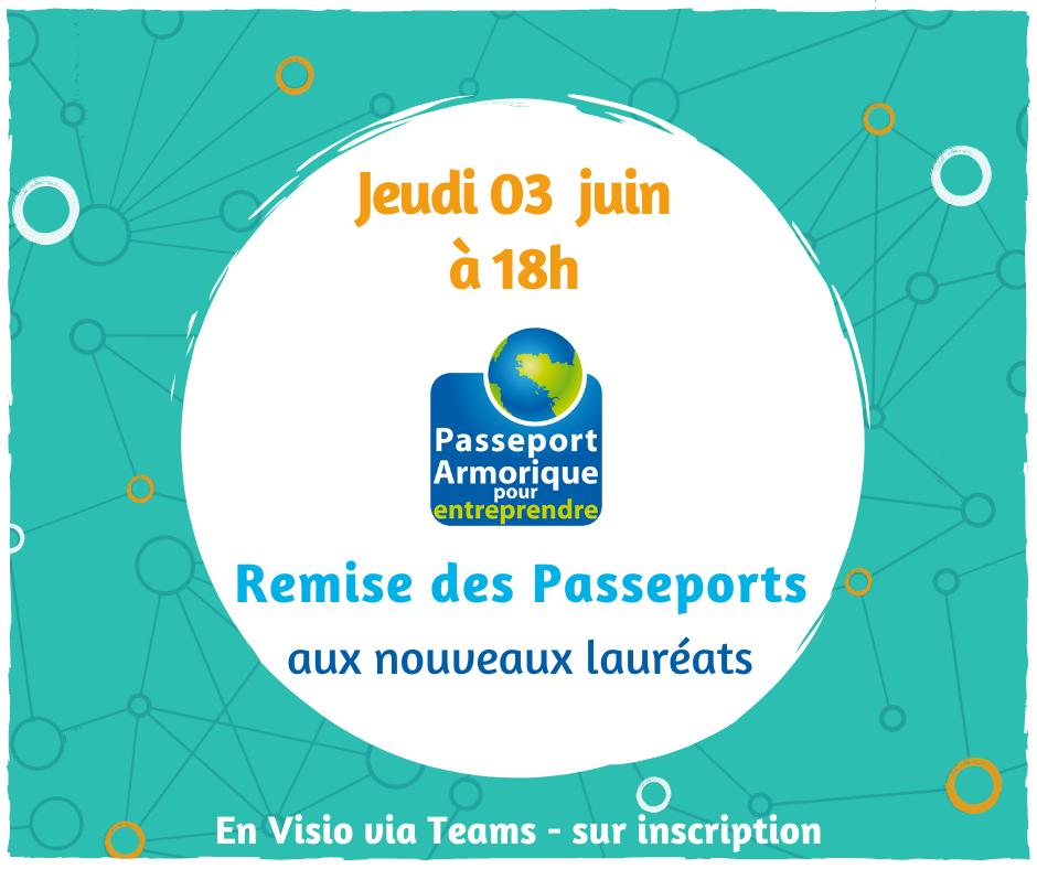 Remise des Passeports Armorique 2021